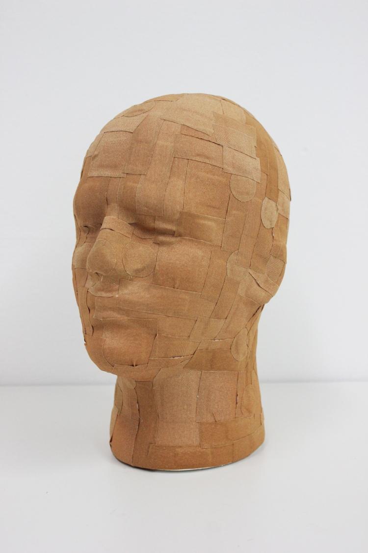 Plastered Head